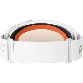POC Ora Clarity Fabio Edition Goggles, hydrogen white/gold